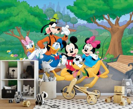Photo wallpaper Disney Mickey Mouse friends